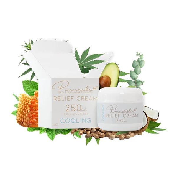 Pinnacle Hemp Full Spectrum Relief Cream 250mg CBD