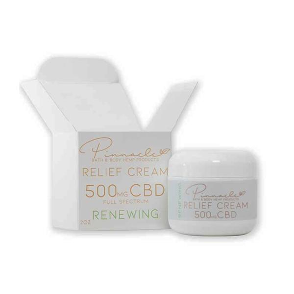 Pinnacle Hemp Full Spectrum Relief Cream 500mg CBD 6