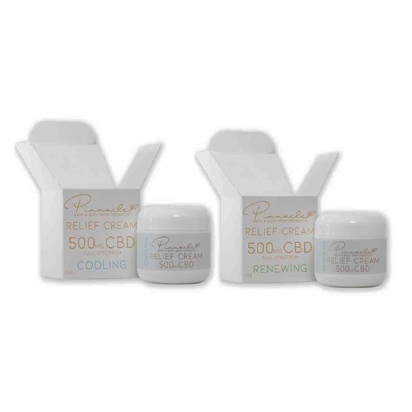 Pinnacle Hemp Full Spectrum Relief Cream 500mg CBD 4