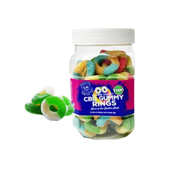 Orange County CBD 10mg Gummy Bears - Small Pack