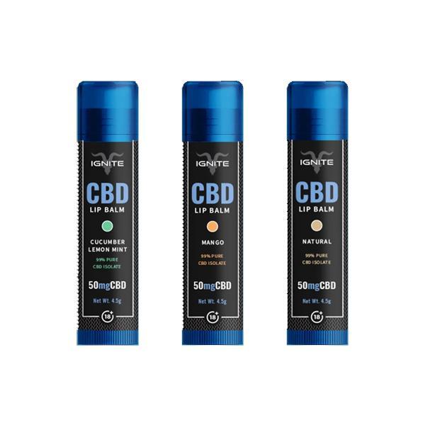 CBD Lip Balm Natural 50mg