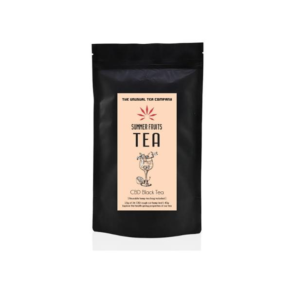 The Unusual Tea Company 3% CBD Hemp Tea - Summer Fruits 40g