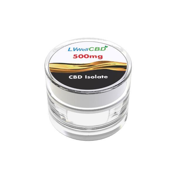 LVWell CBD 99% Isolate 500mg CBD