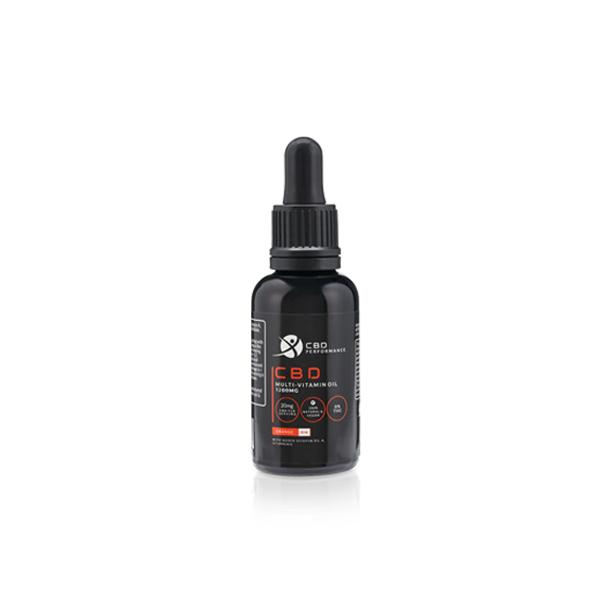 CBD Performance 1200mg CBD Multi-Vitamin Oil 30ml