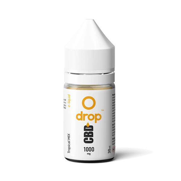 CBD Drop Flavoured E-Liquid 1000mg 30ml