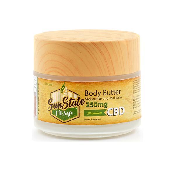 Sun State Hemp 1000mg CBD Massage And Body Oil 100ml