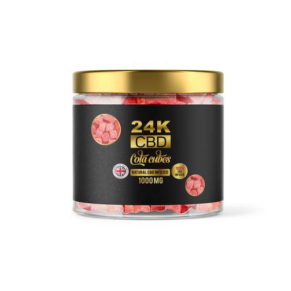 24K 1500mg CBD Premium Gummies 7