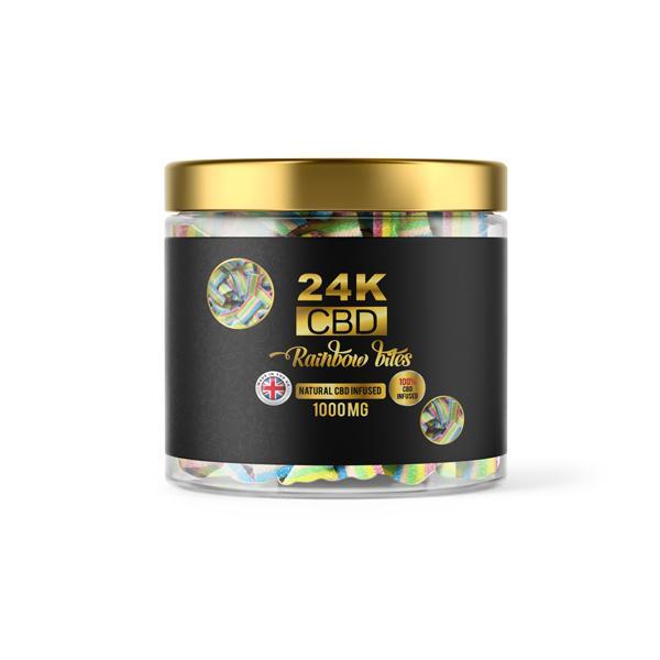 24K 1500mg CBD Premium Gummies 2