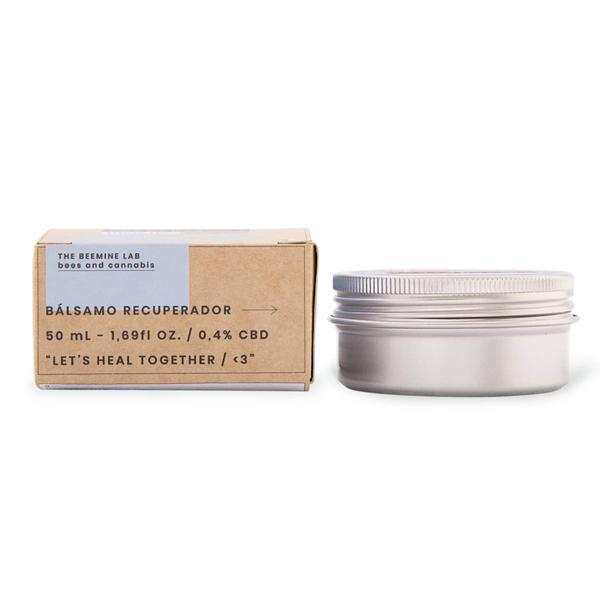 The Beemine Lab 45mg CBD Hydrating Facial Cream 45ml