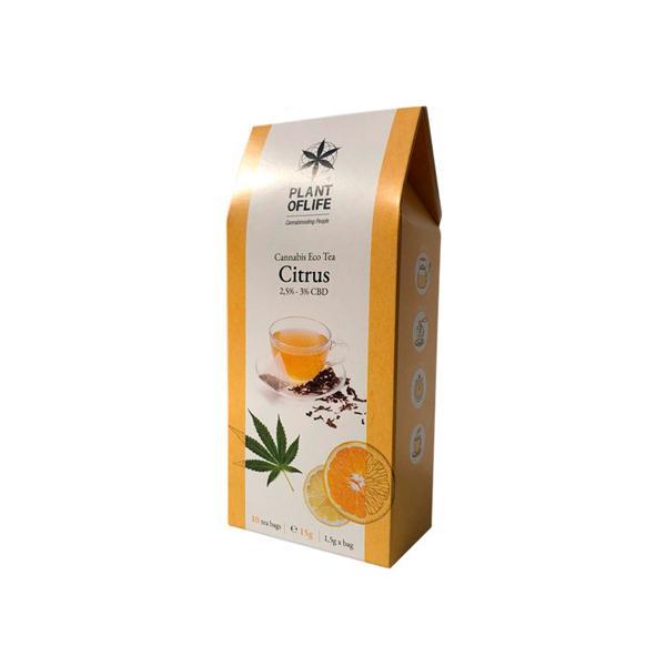 Plant Of Life Infusion 3% CBD Tea - Citrus